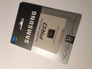 Moderne Micro-SDHC Karten sind winzig aber trotzdem schnell und robust.